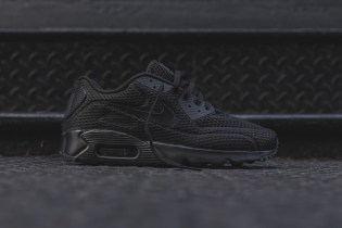 "Nike's Air Max 90 BR Silhouette Gets Covered in ""Triple Navy"" and ""Triple Black"""