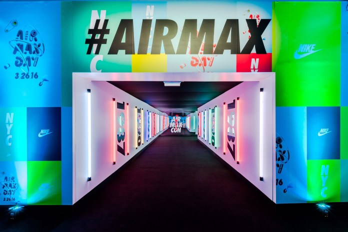 A Look Inside Nike's Interactive Air Max Con in NYC
