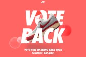 Here's Your Chance to Bring Back an Unforgettable Air Max Drop Via Nike's 'Vote Back'