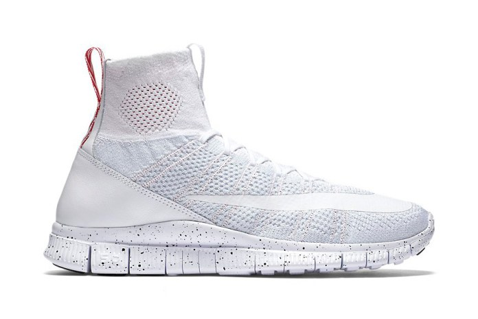 "An Official Look at the Nike Free Flyknit Mercurial Superfly ""All White"""