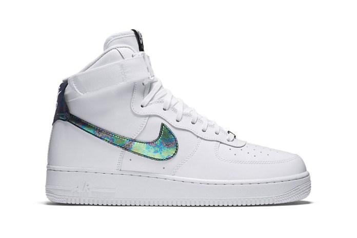 Nike Goes Iridescent for the Next Air Force 1