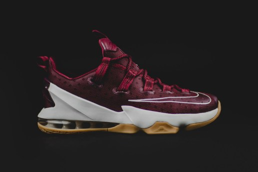 "The Nike LeBron 13 Low Debuts in ""Team Red"""