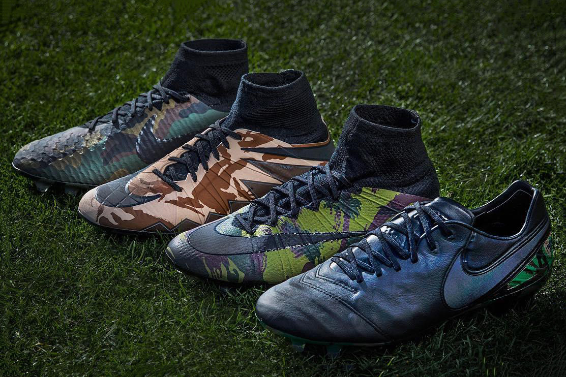 """Nike Releases a Limited Edition """"Camo"""" Pack"""