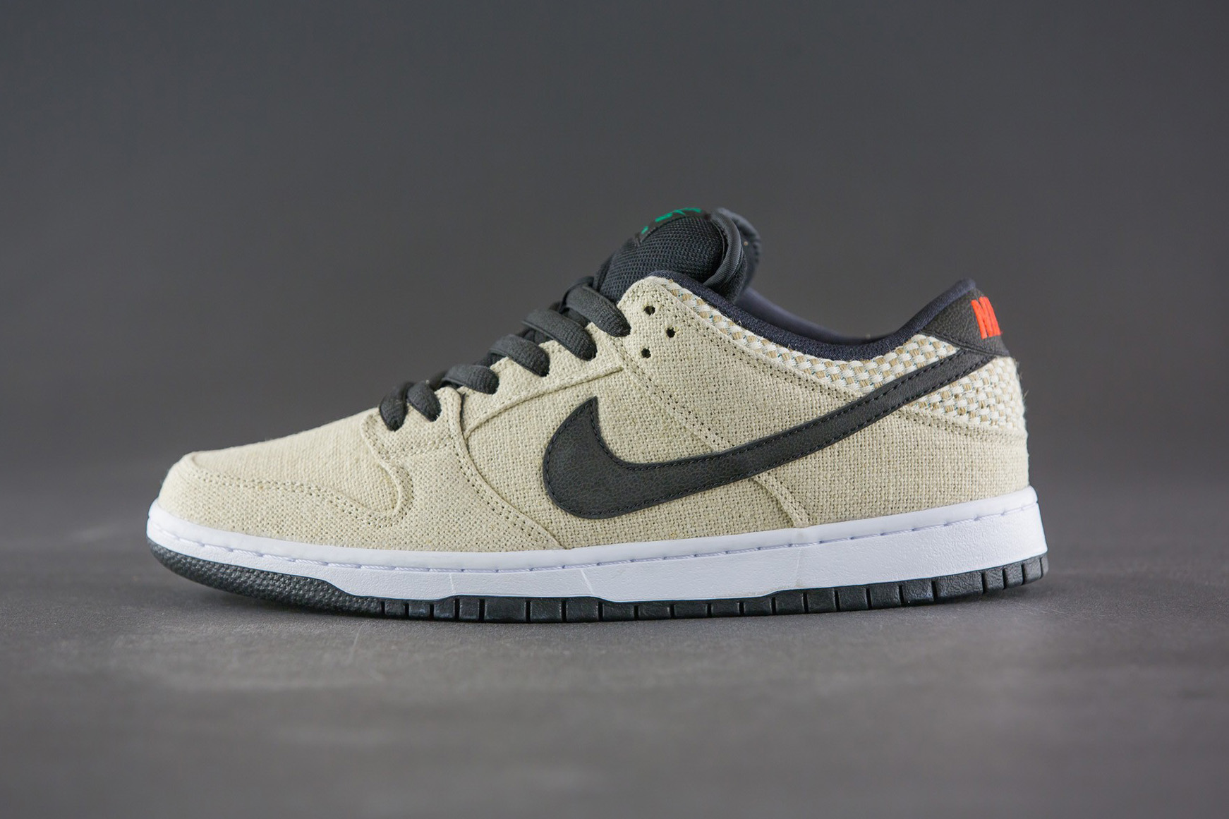 "The Nike SB Dunk Low Premium ""Hemp"" Drops Just in Time for 4/20"