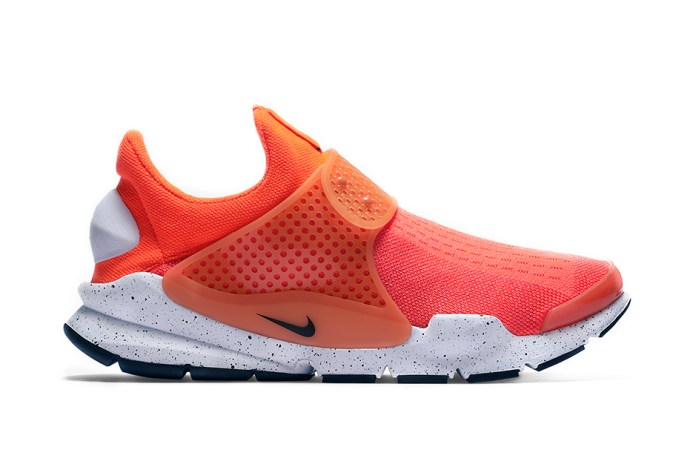 "Nike's Comfortable Sock Dart Receives a ""Total Crimson"" Makeover"