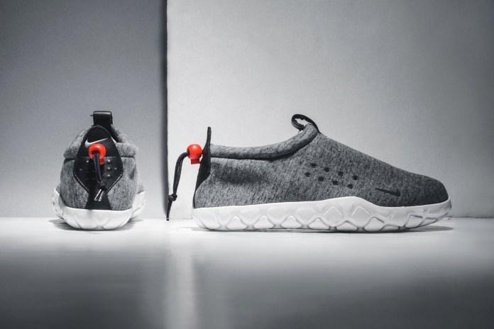 A Closer Look at the NikeLab Tech Fleece Air Moc