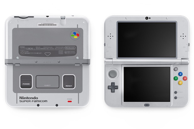 Nintendo's 3DS LL Takes It Back to the 90s With the Super Famicon Edition
