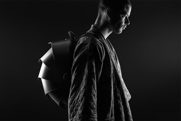 This Futuristic Backpack Emulates a Pangolin's Scales