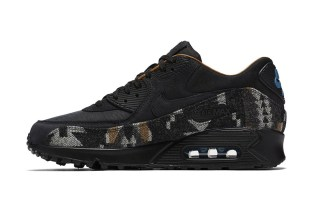 Nike Spices up the Air Max 90 With Pendleton Accents