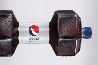 Pepsi Transforms Its New Bottles Into Two Kilogram Dumbbells