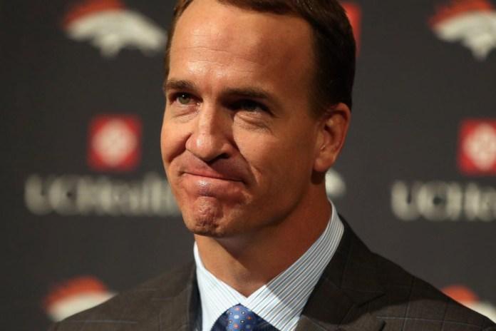 Watch Peyton Manning's Emotional Retirement Speech