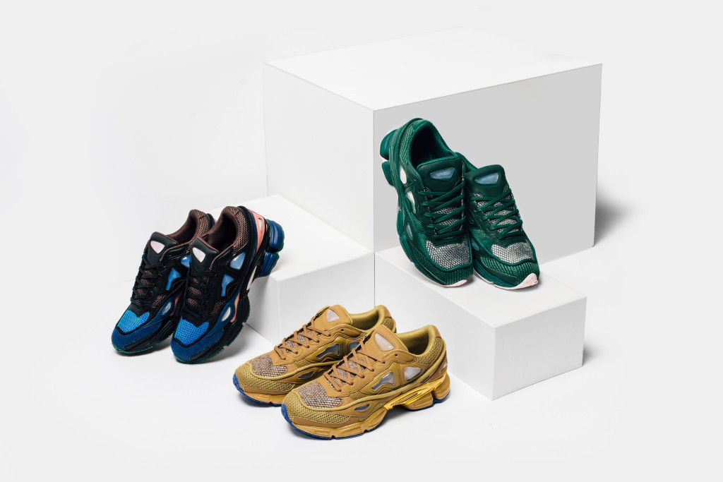 Raf Simons x adidas Offers New Ozweego 2 Colorways
