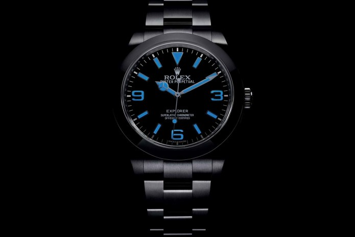 Rolex Introduces the Oyster Perpetual Explorer With Chromalight Display
