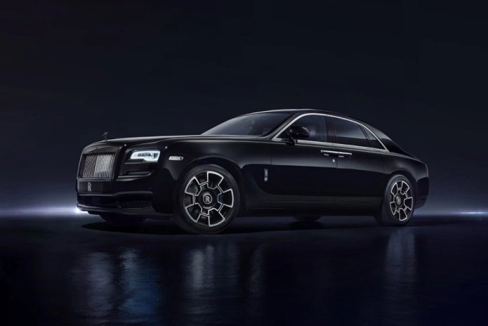 Rolls-Royce Debuts Blacked-Out Ghost and Wraith Models