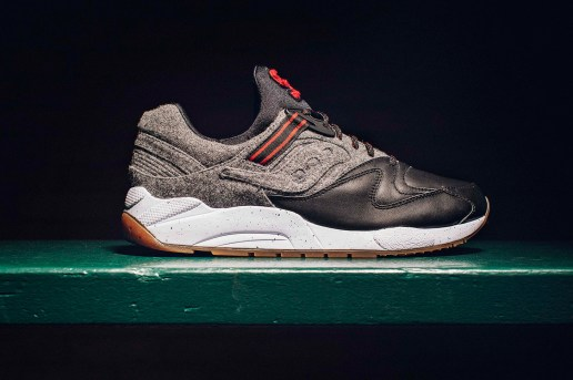 "Saucony Reveals the Upcoming GRID 9000 ""Letterman"""