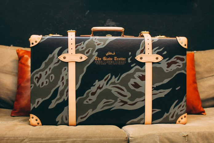 SBTG Customizes a Globe-Trotter Suitcase in Tiger Camo