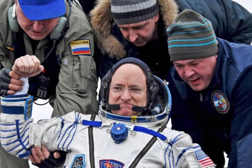 Astronaut Spends 340 Days in Space and Returns to Earth Younger