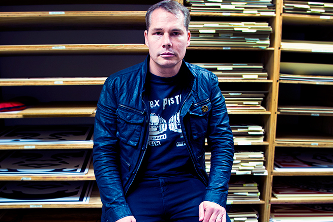 Inside Shepard Fairey's Studio With Future Tongue
