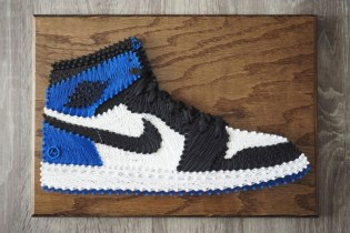 SoleStitches Recreates Iconic Sneakers With Intricate String Art