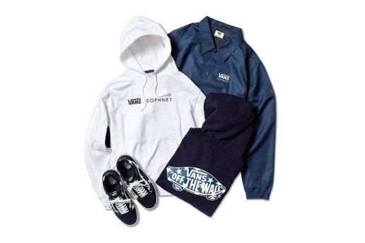 "SOPHNET. and Vans Drop a ""Star Classic"" Apparel and Footwear Pack"