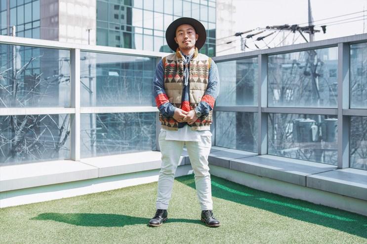 Streetsnaps: Seunghyuk Kang of WORKSOUT STORE SEOUL