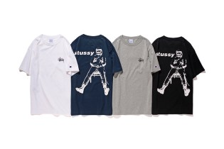 Stussy & Champion Are Dropping a Collection of Graphic Tees for 2016 Spring