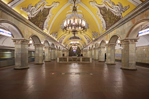 The Privatization of Beauty: Magnificent Subway Systems Around the World