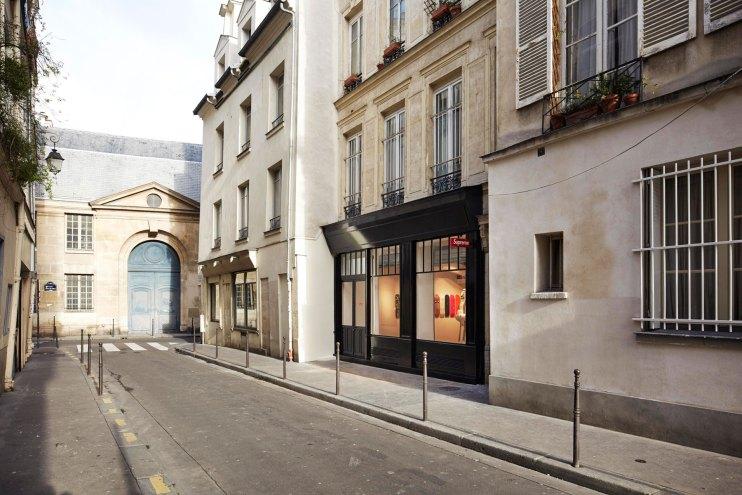 Inside the Supreme Paris Store