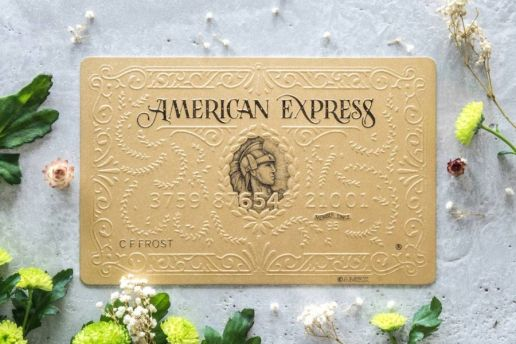 Swindler & Swindler Turn American Express Cards Into Handmade Works of Art