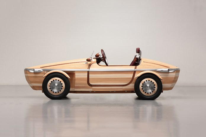 Toyota's Setsuna Concept Vehicle Is Built Entirely From Japanese Wood