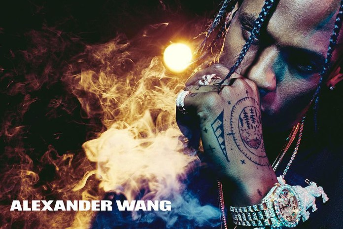 Travis Scott Unveils His Images for Upcoming Alexander Wang Campaign