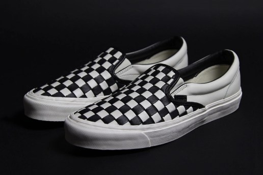 Vans Celebrates 50 Years With a Premium Woven Checkerboard Slip-On