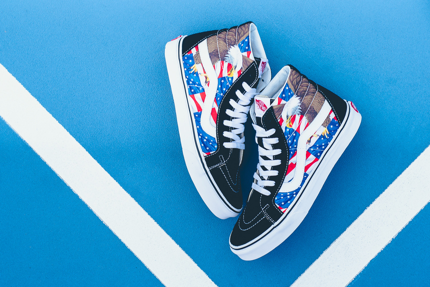 """Celebrate 'Murica With the Vans """"American Freedom"""" Pack"""