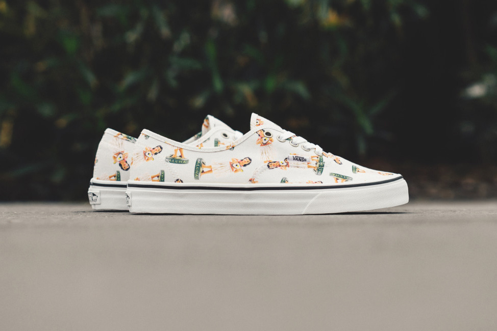 "Vans Gives the Authentic a Summer-Ready ""Digi Hula"" Makeover"