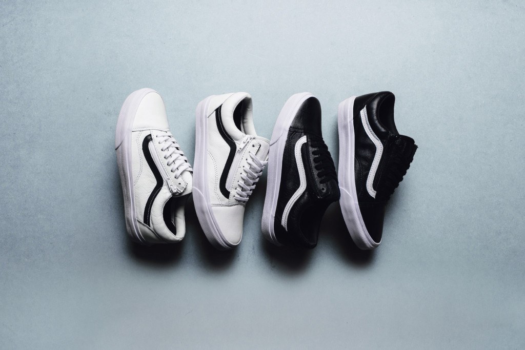 Vans Drops a Premium Leather Old Skool Zip Pack