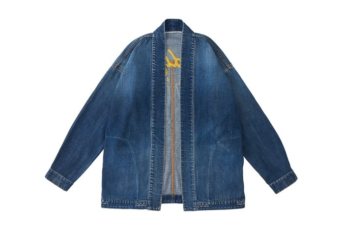 "visvim Unveils ""Damaged"" Kimono-Inspired Denim Jacket"