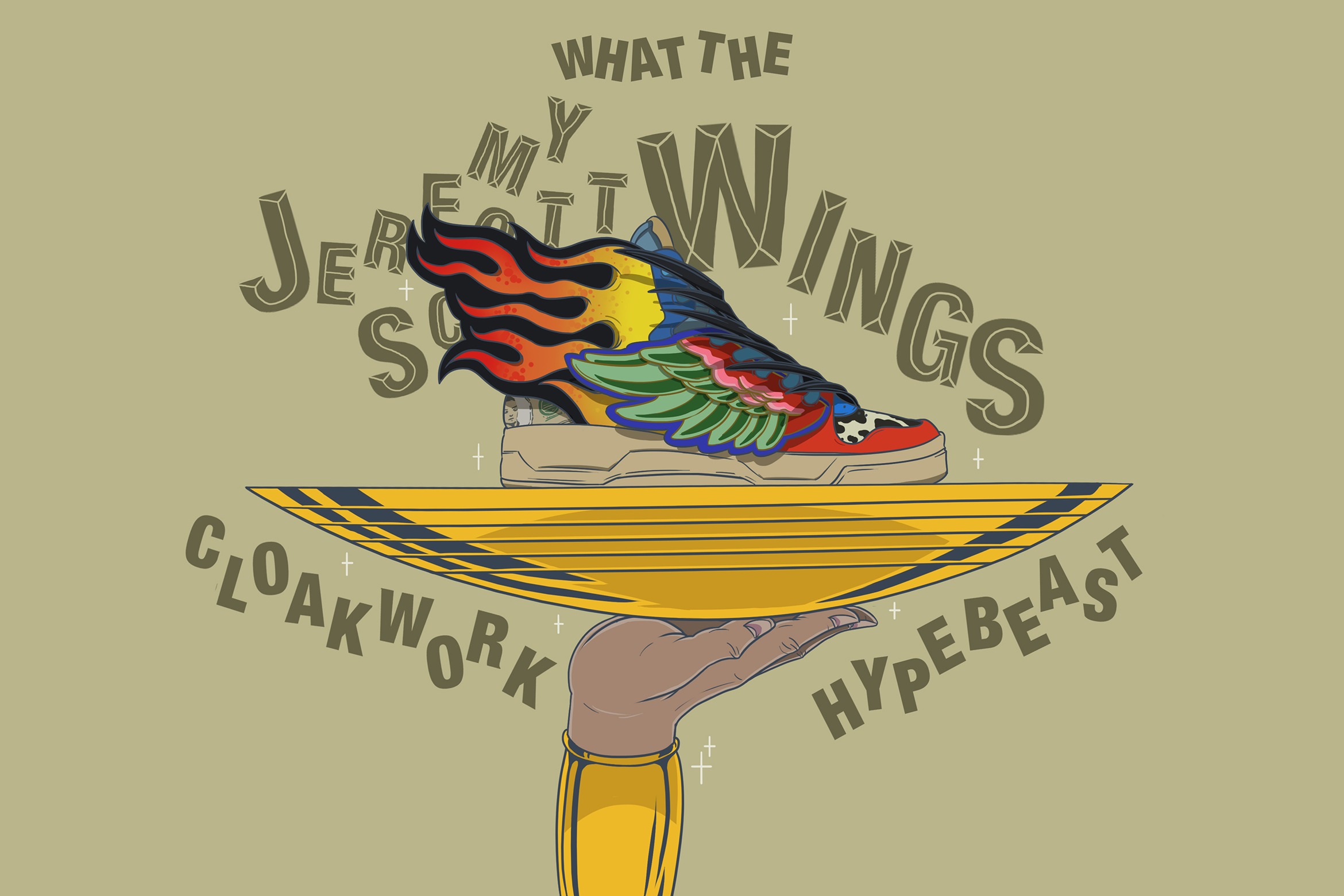 "What If These Sneakers Received the ""What The..."" Treatment?"