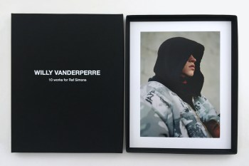 Explore Raf Simons' Career in Willy Vanderperre's New Photography Book