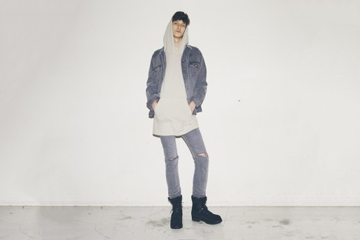 "WVM x monkey time 2016 Spring/Summer ""Garment Dyed Denim"" Lookbook"