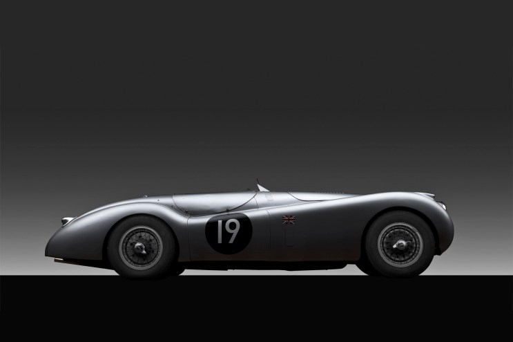 A 1954 Jaguar XK120M That Went From Roadster to Race Car