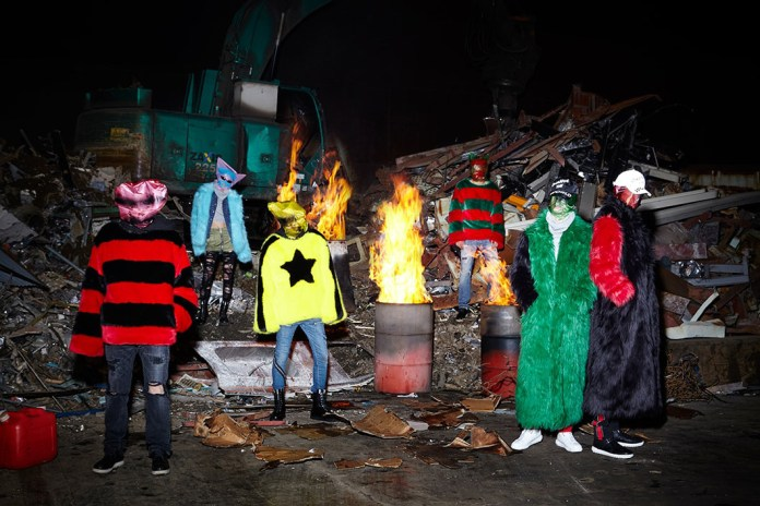 """A Scrapyard Serves as the Backdrop for 99%IS' """"YORT2ED"""" Lookbook"""