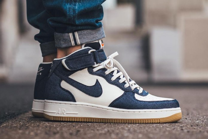 The Nike Air Force 1 Mid '07 Gets the Denim Treatment