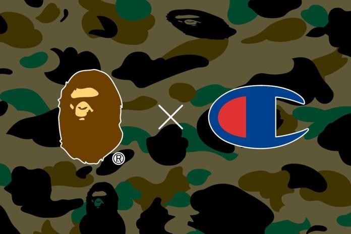A Bathing Ape Teases a Collaboration With Champion