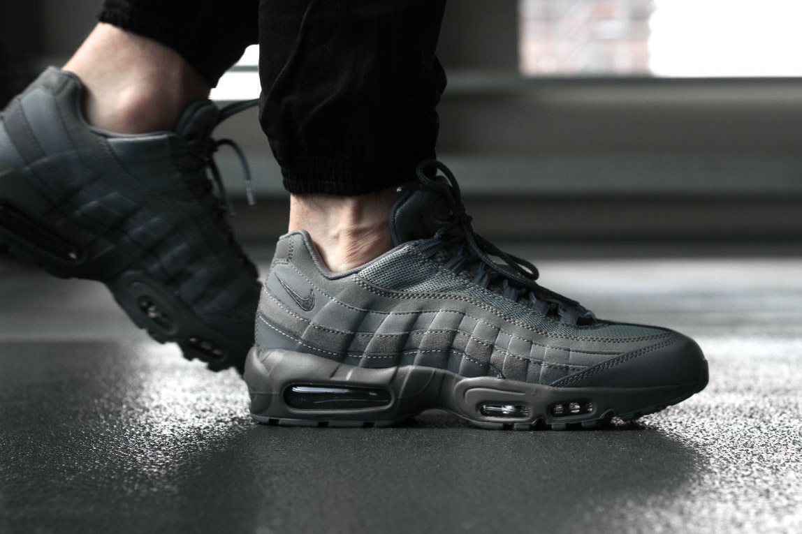 """A Closer Look at the Nike Air Max 95 Essential """"Cool Grey"""""""