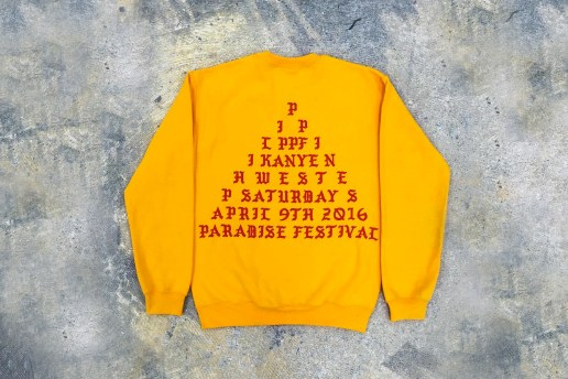 A First Look at Kanye West's Paradise Music Festival Merchandise