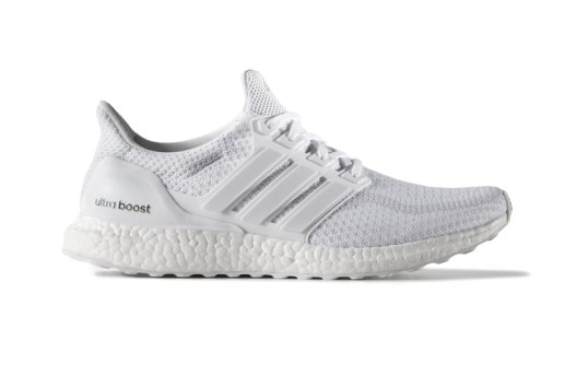adidas Drops Another Run of Triple-White Ultra Boosts