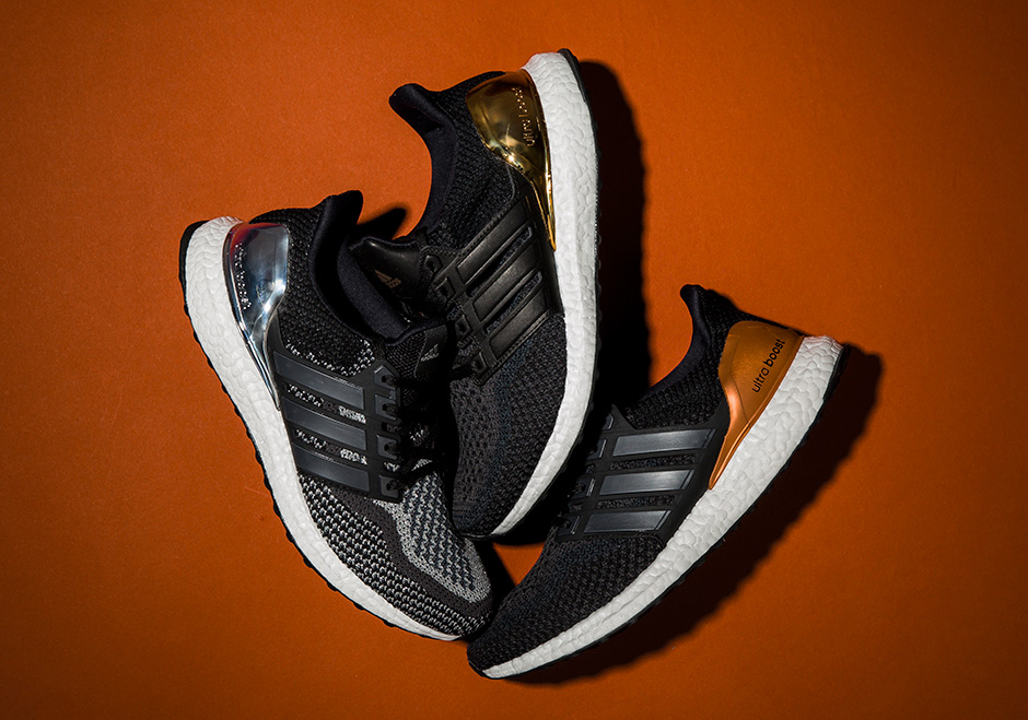 """The adidas Ultra Boost """"Olympic Medals"""" Pack Releases Next Week"""
