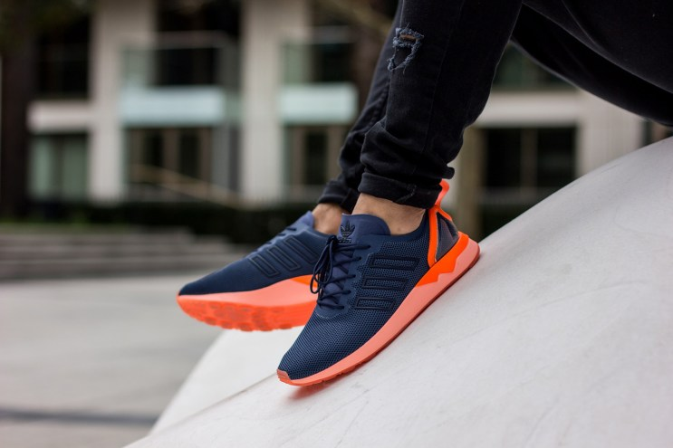 adidas Originals' ZX Flux ADV Offers a Sleek Pop of Neon