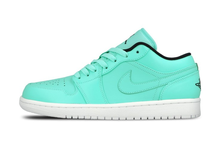 "The Air Jordan 1 Low Is Now Available in ""Hyper Turquoise"""