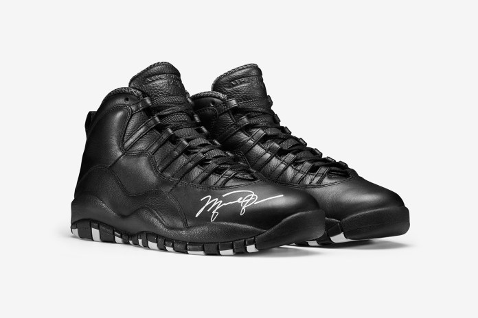 Nike Is Auctioning off Autographed Air Jordan 10s for OHSU Doernbecher